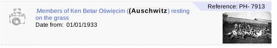 Betar in Auschwitz